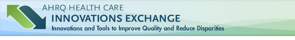 AHRQ Innovations Exchange Logo