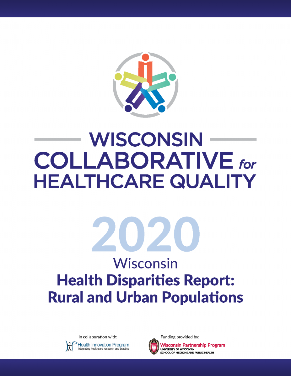 WCHQ 2020 Wisconsin Health Disparities Report